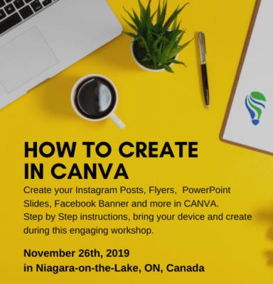 promo for Canva Workshop