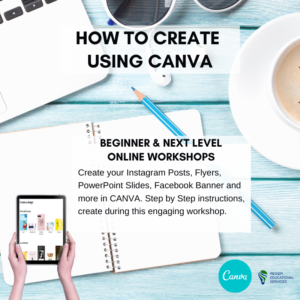 Two upcoming Canva Workshops