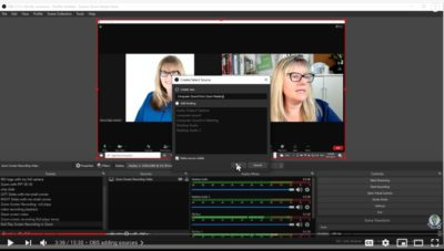 display capture screen for OBS