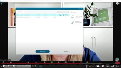 image of fonepaw save recording screen