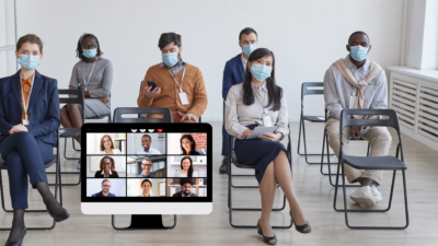 The Next Pivot: blended audience online and in person